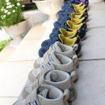 子供の靴を処分しました。靴の数について。
