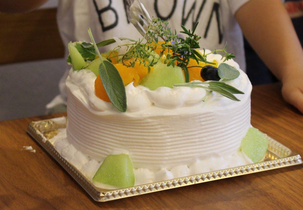 卵乳製品不使用お誕生日ケーキ