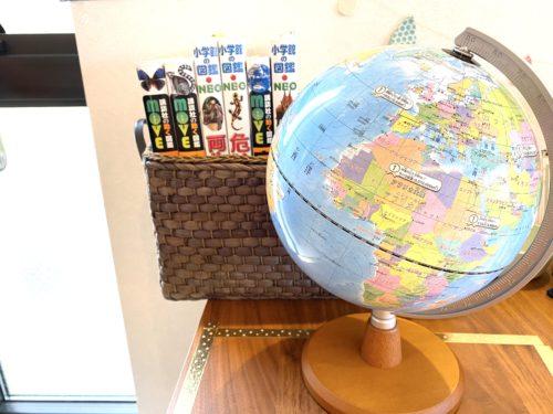 おすすめ地球儀と図鑑