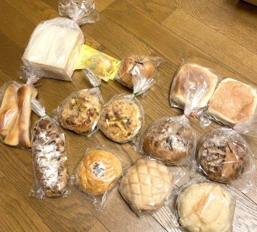 くうパン購入したもの