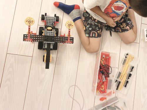 家でもロボット作り